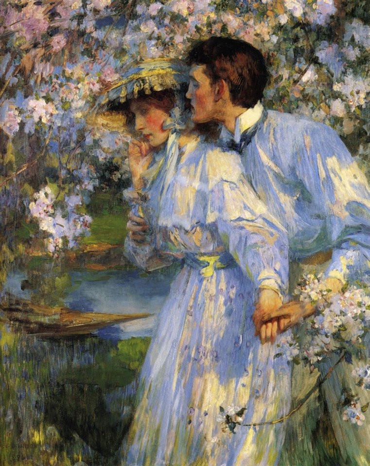 In the springtime, 1886